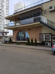 Glass facade ETEM E85