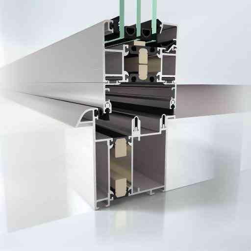 Sliding Systems Schüco profile Schüco ASS 80 FD.HI