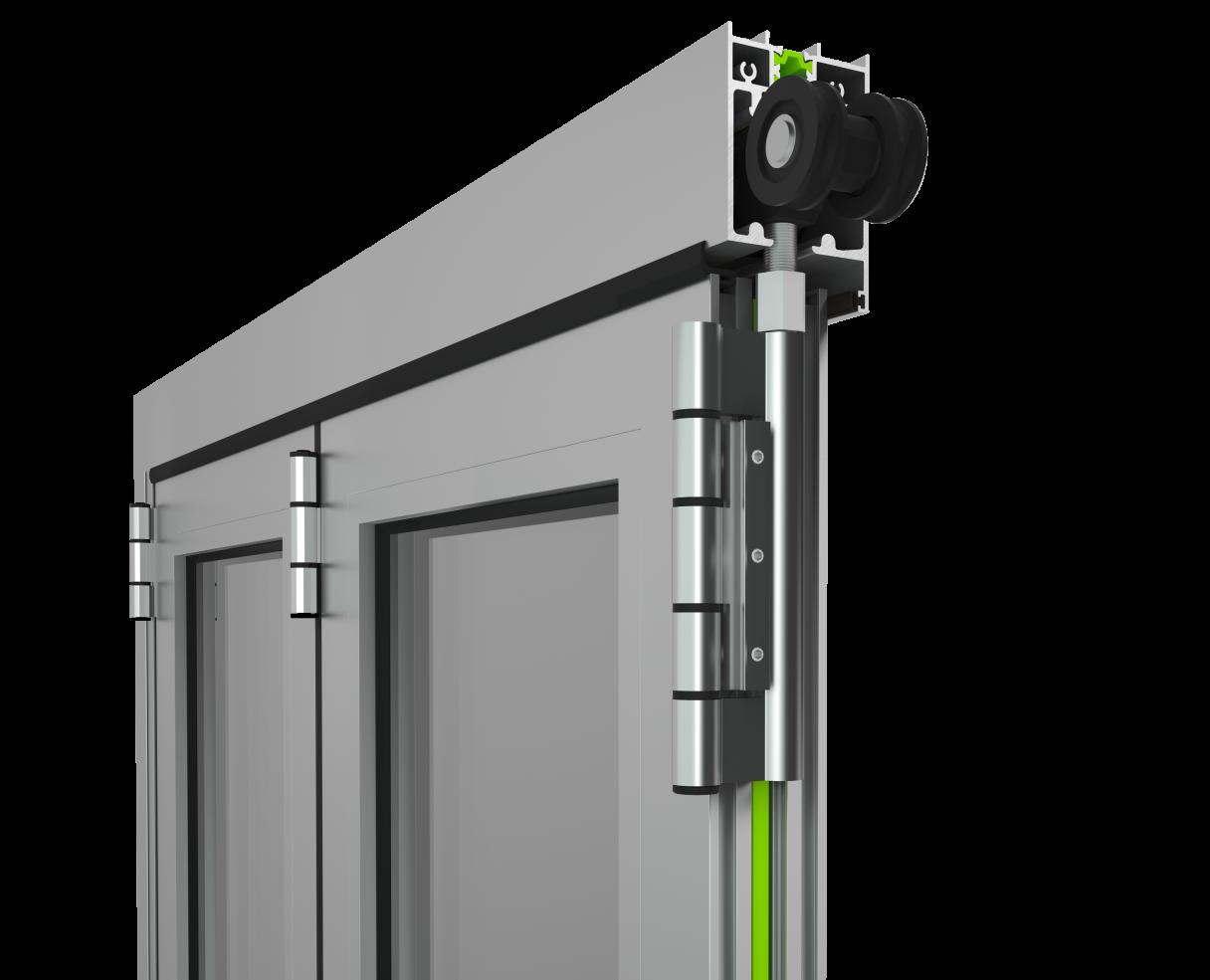Schiebesystem Etem profil E39