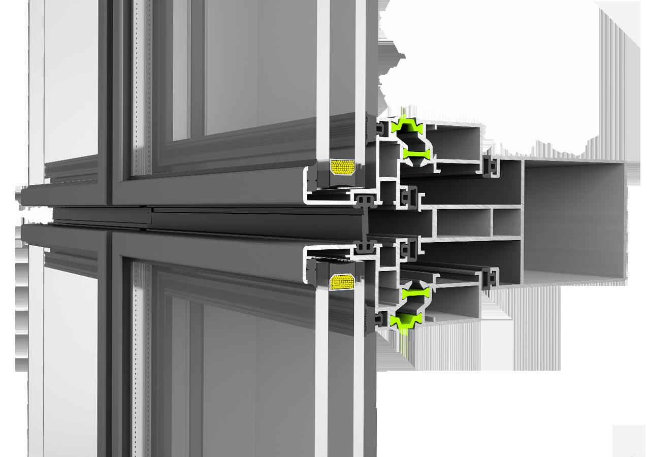 Fasada Etem profil Е8000