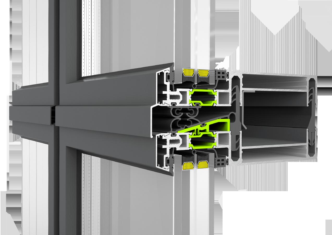 Fasada Etem profil Е99